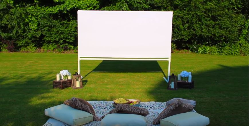 how many lumens for outdoor projector