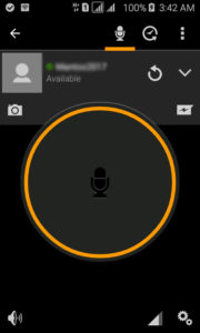 how does zello walkie talkie work